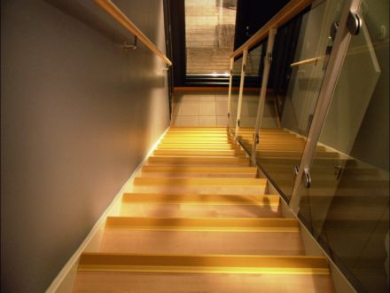 Brass Ridged Stair Nosing 23mm