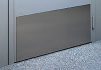Stainless Steel 200 x 730mm Kickplate