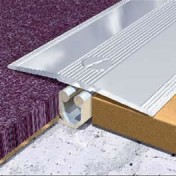 Aluminium Tile to Carpet Top & Base Set 40 mm