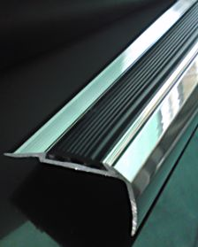 Polished Aluminium With Anti Slip Insert