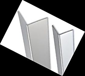 Bright Silver Corner Guards
