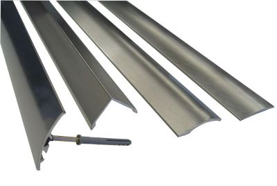 Aluminium Coated In Stainless Steel Cover Strips Floor
