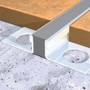 Adhesive Fix Aluminium With EPDM Insert