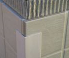 Ridged PVC 25mm Beige
