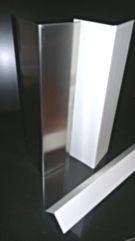 Steelect Stainless Heavy Duty Corner Guards 50mm 2.5mtr