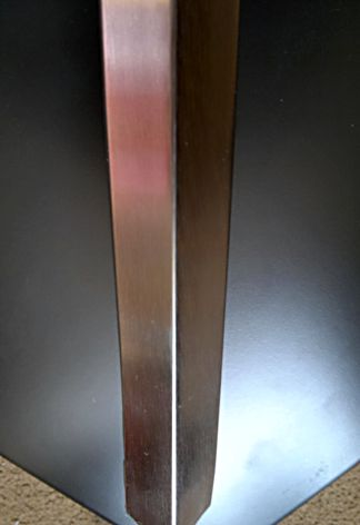 Alu Stainless Corner Guard 30mm Brush Polished