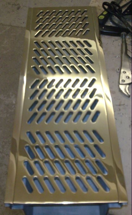 Machined Brass Drain Cover