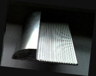 Extruded Solid Aluminium Corner Guard