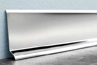 Stainless Steel Skirting 120mm
