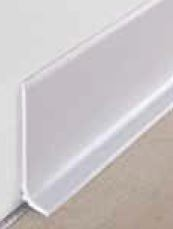 PVC Flexible Skirting 60mm 5mtr