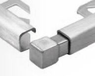 Stainless Steel Square Edge Corner Pieces