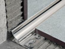 Stainless Steel Coves Floor Wall Solutions Carpet Vinyl Tile - Coved floor tiles